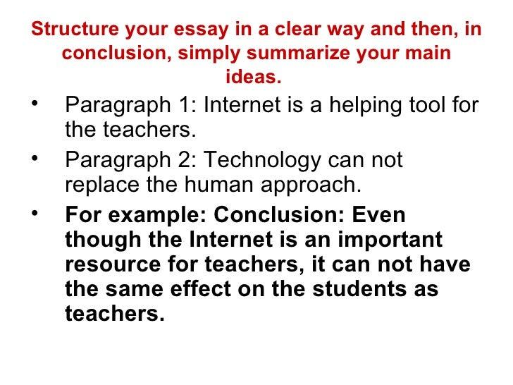 technology essays conclusion