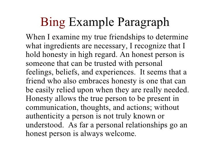 essay friendship english