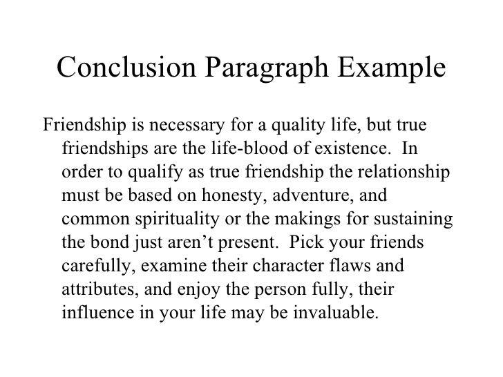 easy essay on friendship