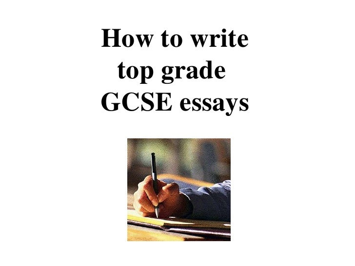 writing gcse essay