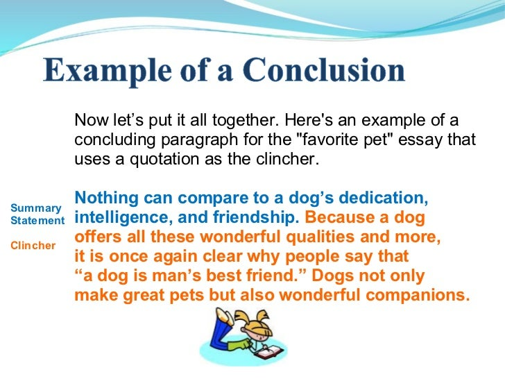Conclusion paragraph example for analysis essay