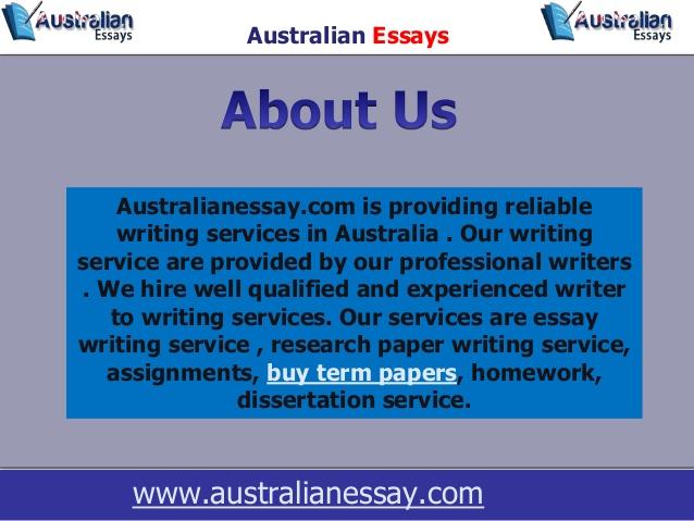 Best Assignment & Essay Writing Service Australia, Buy Dissertation