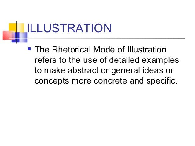 What is rhetorical mode essay
