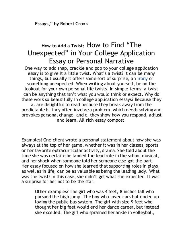 Best narrative essays