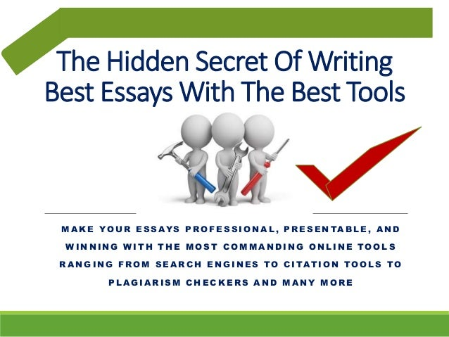 Essay writing tool