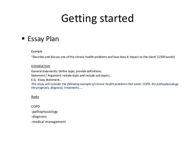 Word essay example