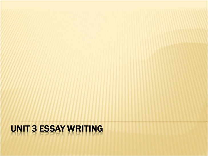 Essay writting -_structure_and_organisation