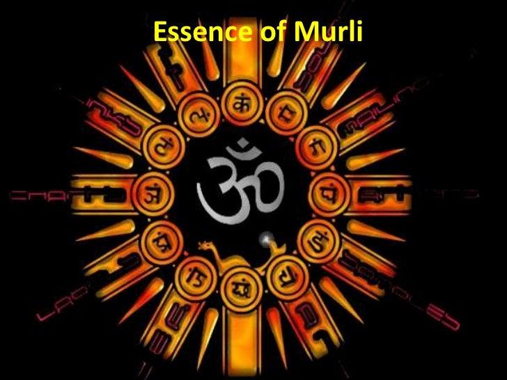 Essence of Murli<br />