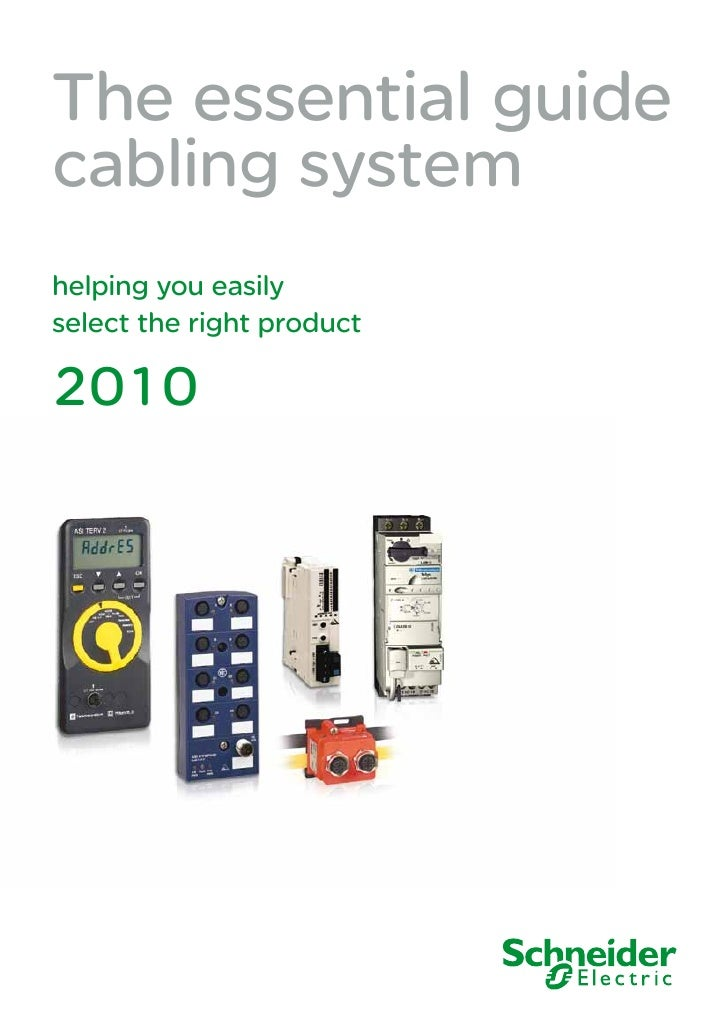 The essential guide cabling system helping you easily select the right product  2010