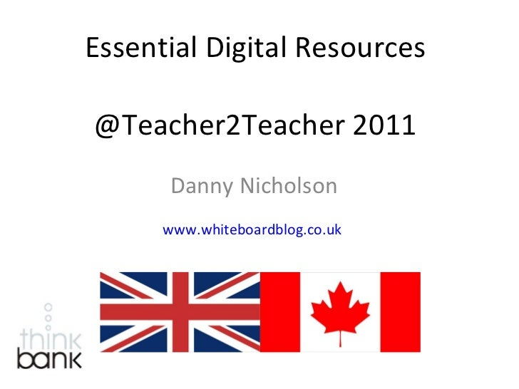 Essential digital resources (2011 version)
