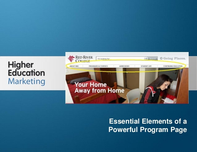 Essential Elements of a Powerful Program Page  Essential Elements of a Powerful Program Page Slide 1