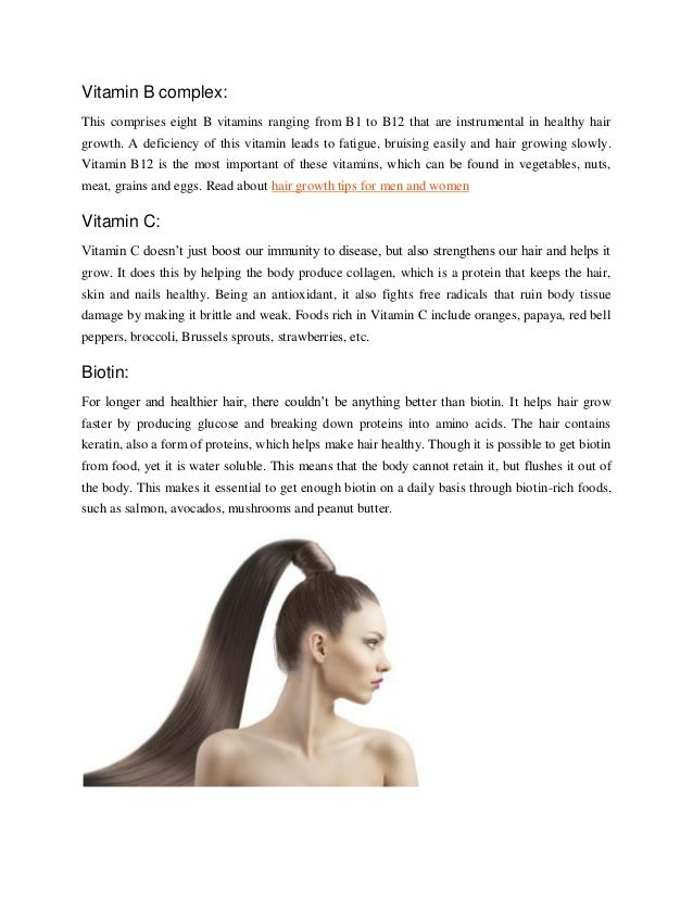 How Iron Helps Hair Growth images