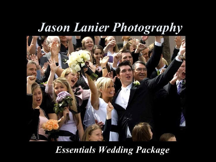 Jason Lanier Photography Essentials Wedding Package