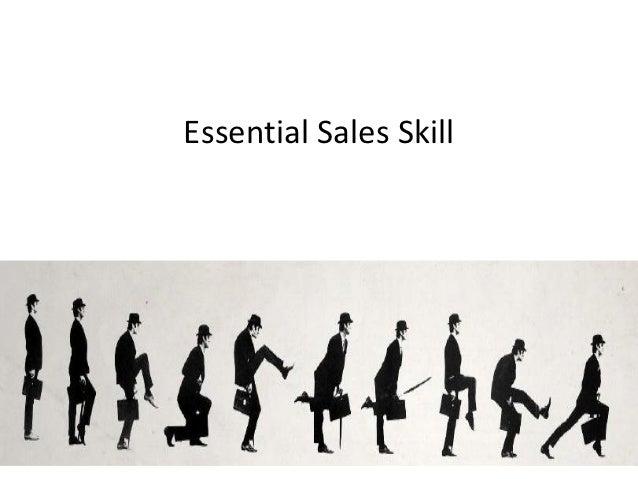 Essential Sales Skill