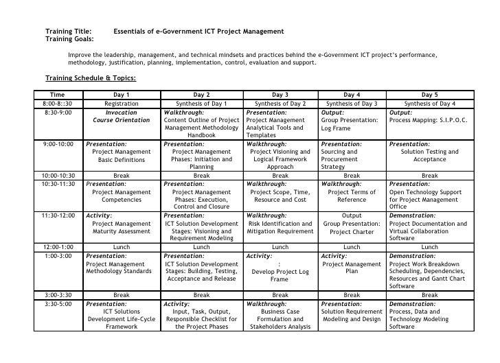 Essentials egov ict_project_management_v1