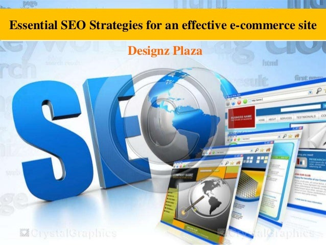 Essential seo strategies for an effective e commerce site