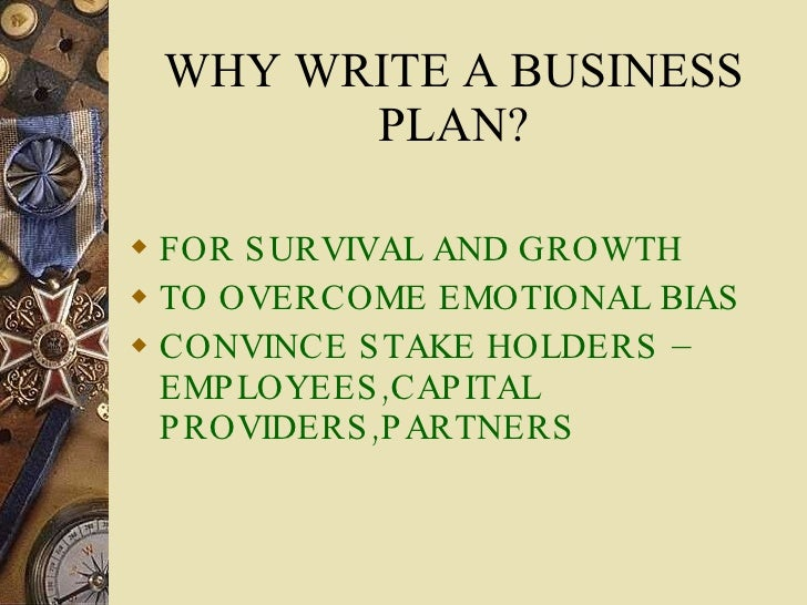 Essentials of writing a business plan
