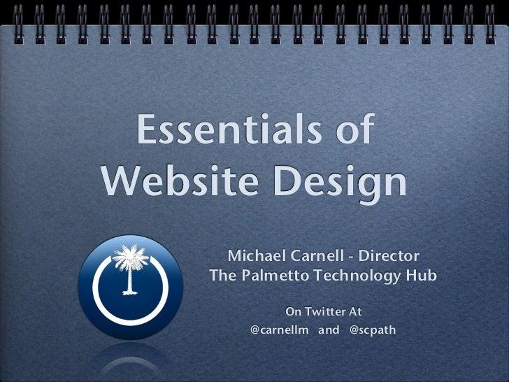 Essentials of Good Web Design