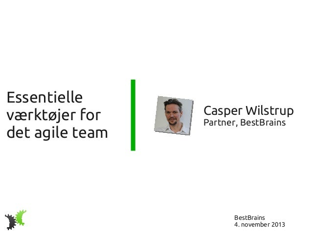 Essentielle værktøjer for det agile team