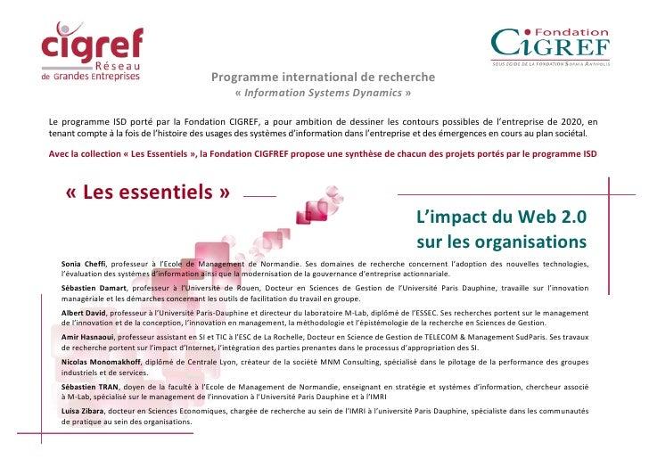 Essentiels Web 2.0 vers Entreprise 2.0