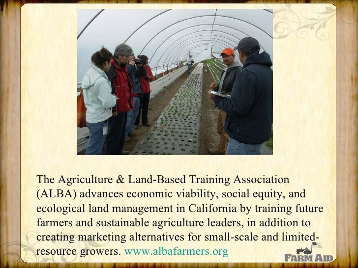 Farm Aid fosters connections between farmers and eaters by growing and strengthening local and regional markets. Here's a ...