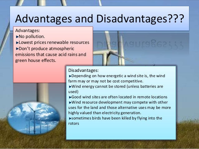 Wind Power Renewable Energy Wind Power Advantages And