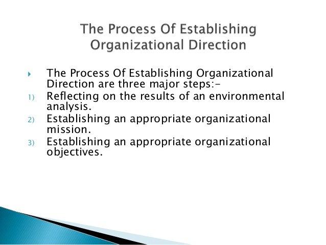 organizational direction