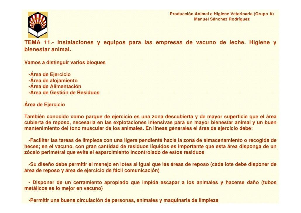 Producción Animal e Higiene Veterinaria (Grupo A)                                                                        M...