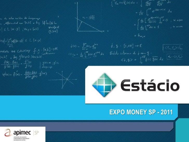 EXPO MONEY SP - 2011