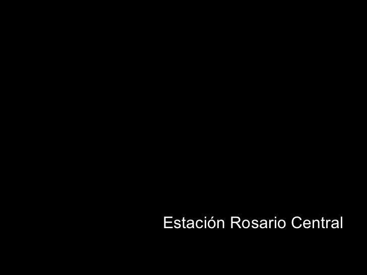 Estación Rosario Central