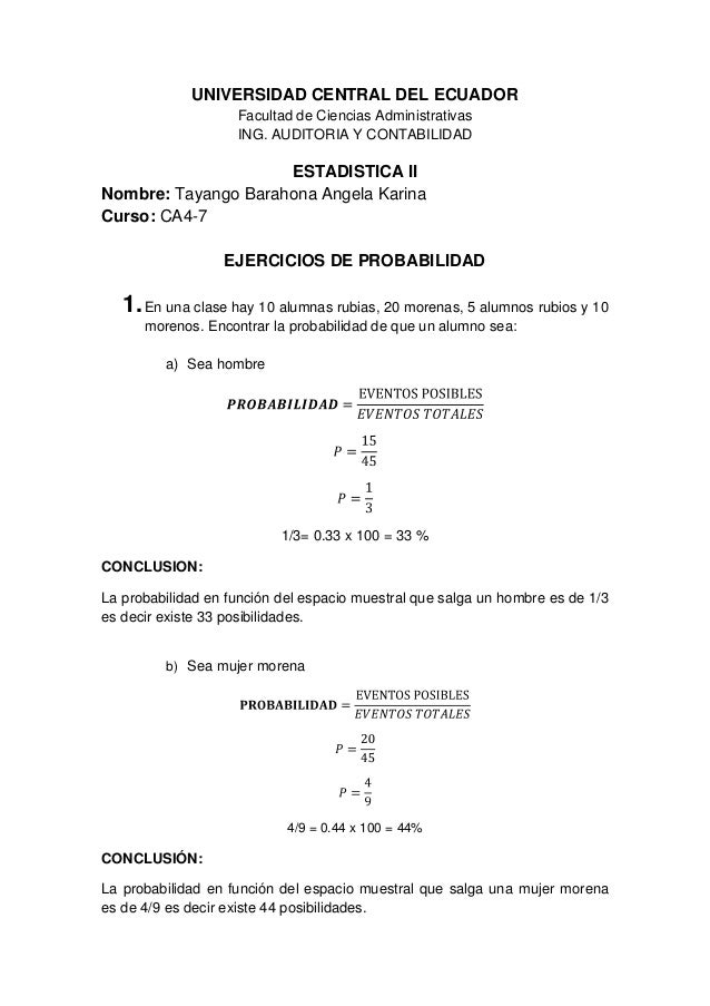 UNIVERSIDAD CENTRAL DEL ECUADOR                    Facultad de Ciencias Administrativas                    ING. AUDITORIA ...