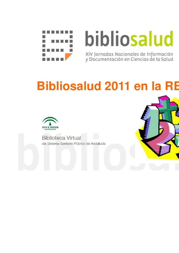 Bibliosalud 2011 en la RED