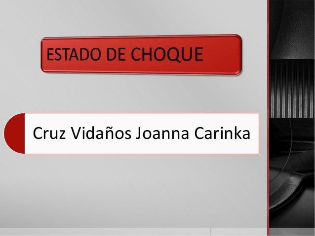 Cruz Vidaños Joanna Carinka