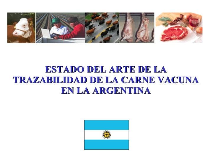 Estado De La Trazabilidad En Las Carnes