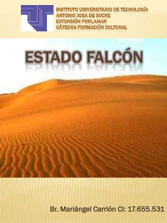 Estado falcón