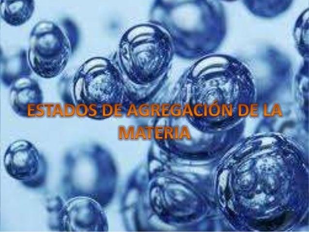 En física y química se denomina cambio de estado a la evolución de la materia entre varios estados de agregación sin que o...