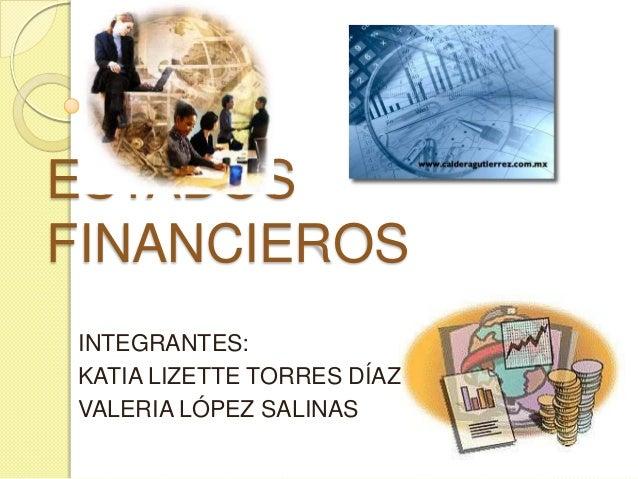 Estados Financieros Básicos Contabilidad I