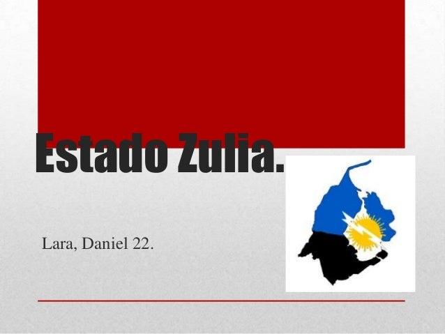 Estado Zulia.