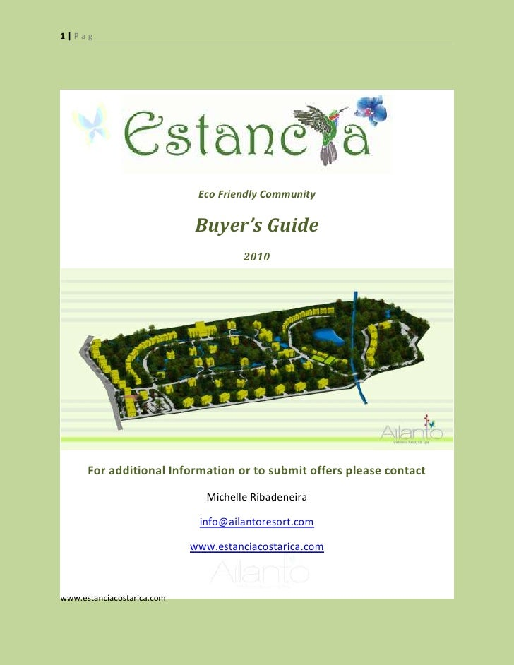 1|Pag                                  Eco Friendly Community                              Buyer's Guide                  ...