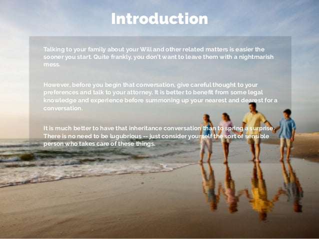 Why is it important to have an introduction?