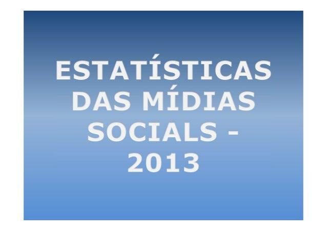 Em seu vídeo Social Media2013, Eric Qualman nos mostrauma estatística fascinante.Traduzi e converti o vídeo, mas sevocê qu...