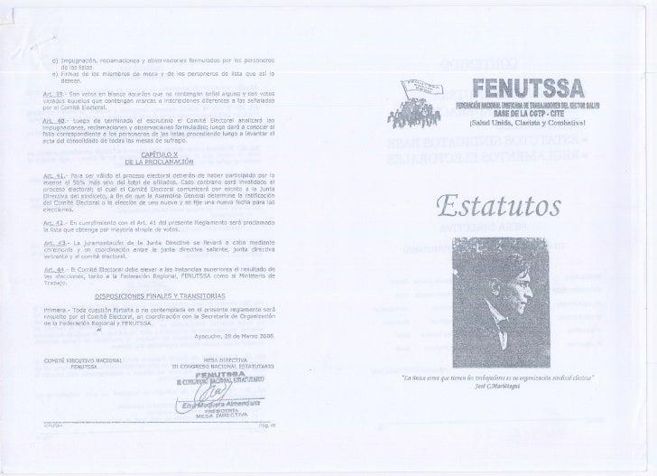 d) Impugnación, reclamaciones y observaciones formulados por los personeros       de las listas.    e) Firmas de los miemb...