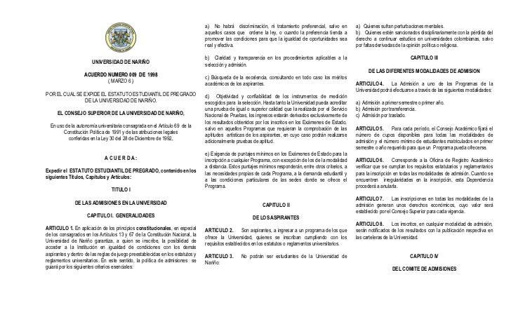 Estatuto estudiantil marzo_2010