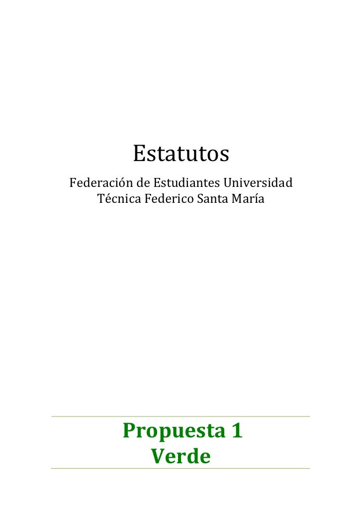 Estatutos feutfsm