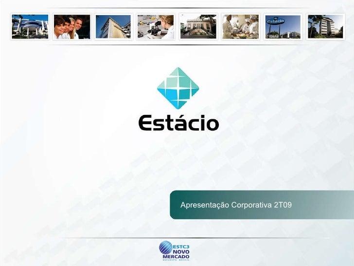 Apresentação Corporativa 2T09