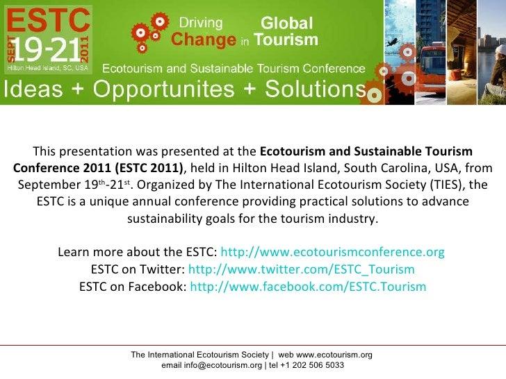 ESTC 2011 Presentation by Krisztian Vas, University of Waterloo, Birding Trail