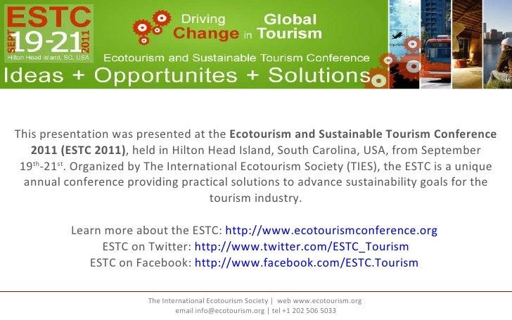 "ESTC 2011 Presentation ""Stretching Your Marketing Budget"""