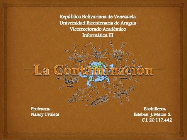República Bolivariana de Venezuela Universidad Bicentenaria de Aragua Vicerrectorado Académico Informática III  Profesora:...