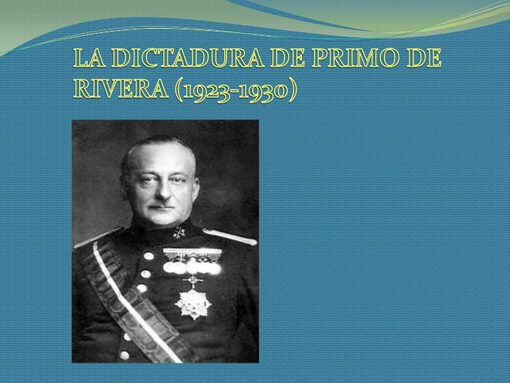 - Las consecuencias de Annual    1) CAUSAS DEL GOLPE DE ESTADO DE                con sus 13.000 muertos y la            PR...