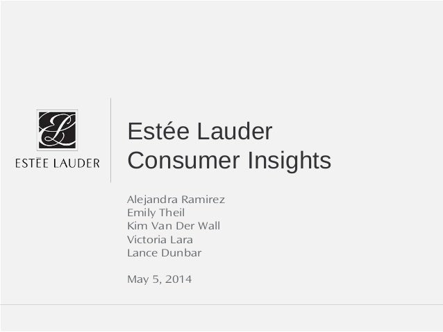 estee lauder companies inc 2008 case analysis Case 1: integrated logistics for dep/gard integrated logistics for dep/gard analysis 14 case abstract the estee lauder companies inc.
